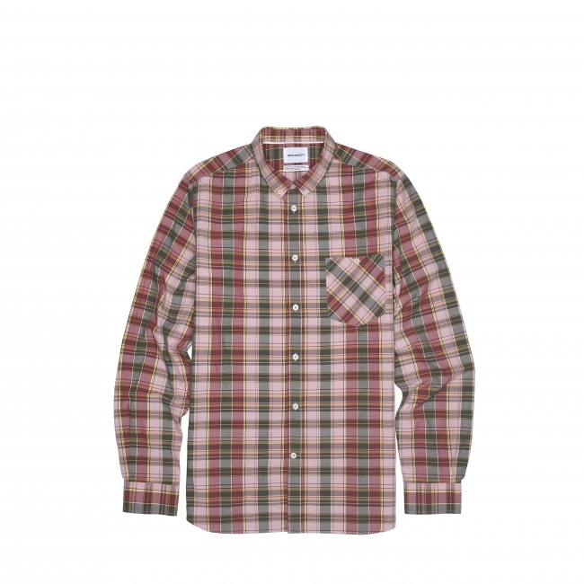 Norse Projects Anton Check LS Shirt - Norse Projects
