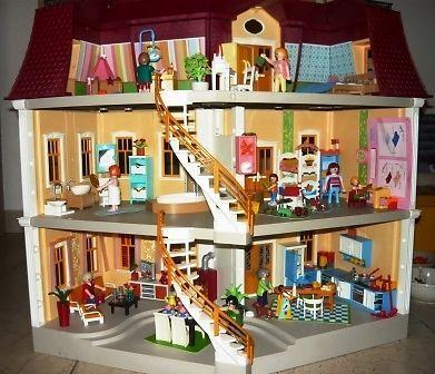 25 beste idee n over playmobil puppenhaus 5302 op for Puppenhaus beleuchtung set