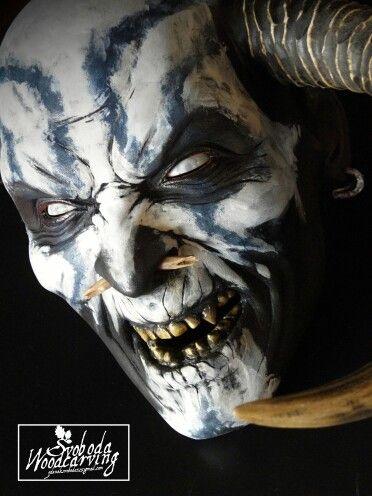 Krampus mask  2015                                                                                                                                                                                 More