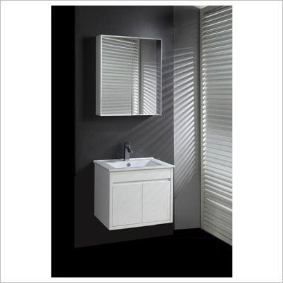 WD Series 60cm Shadow Line Wall Mounted Slim China Top Vanity Ostar |  Wayfair