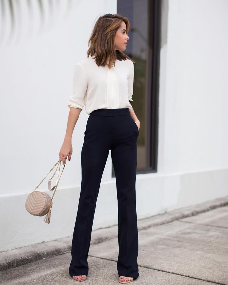 Once you build a work wardrobe base with classics you can wear for years to come you will save time money and stress. @jacquelinedemarco shares the must-have classics for the professional wardrobe on theeverygirl.com (link in profile)    photo via @thestylebungalow by theeverygirl_