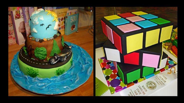 #amazing #rubiks #cube #bike #cake #design