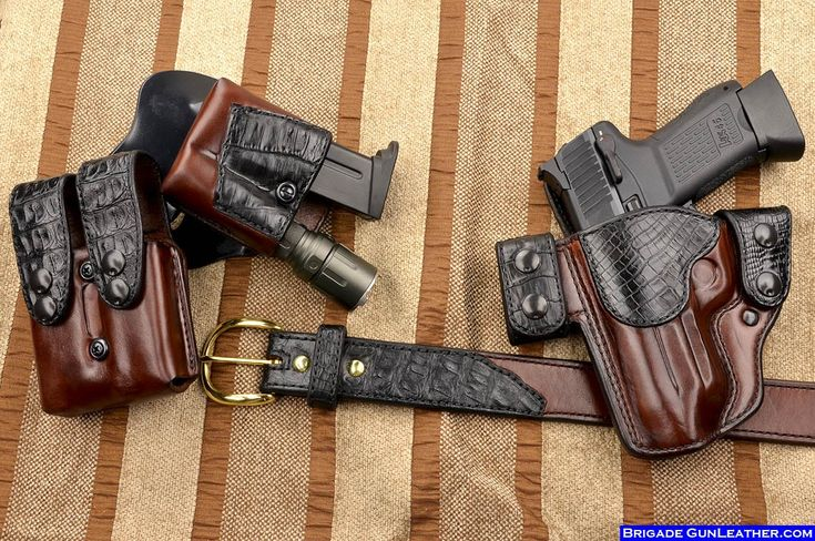 leather holsteras | Newest Custom Holsters and Leather gun holsters from Brigade ...