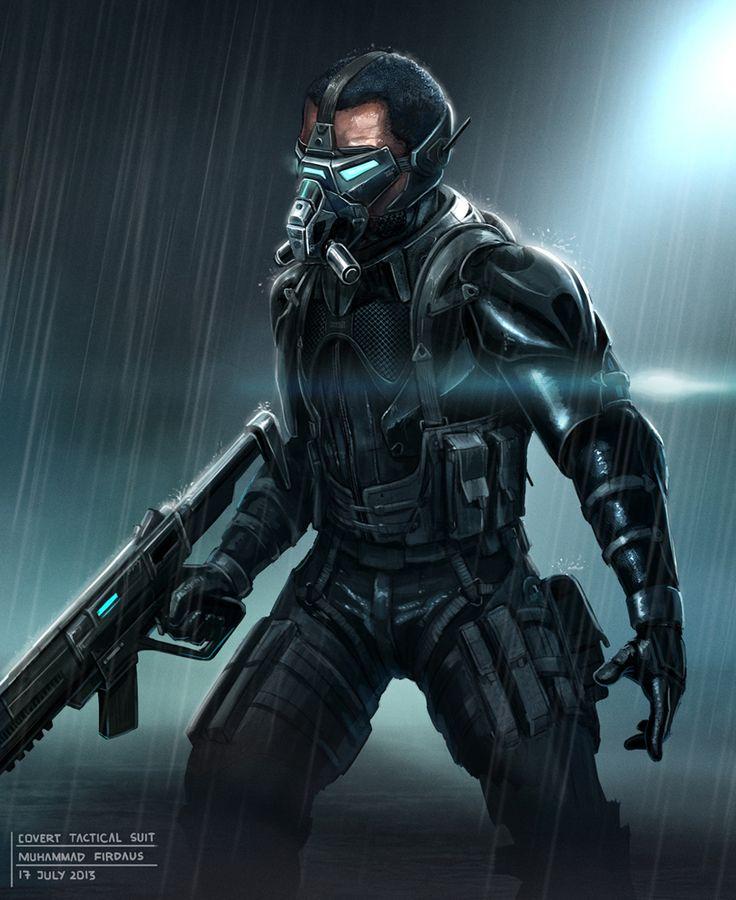 Covert Tactical Suit by freakyfir.deviantart.com on @deviantART