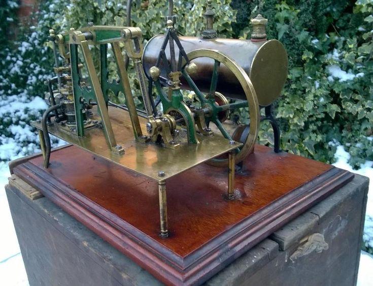 VIDEO Clyde Dockyard Radiguet steam Beam engine burner box c 1900 bing marklin