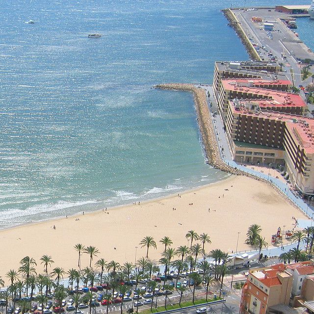 Alicante Beach #ComunidadValenciana #Spain
