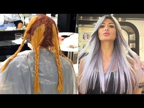 Amazing Hair Colour Transformation by Mouniiiir