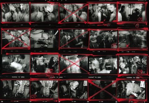 Contact Sheets are Good and Good For You, William Klein