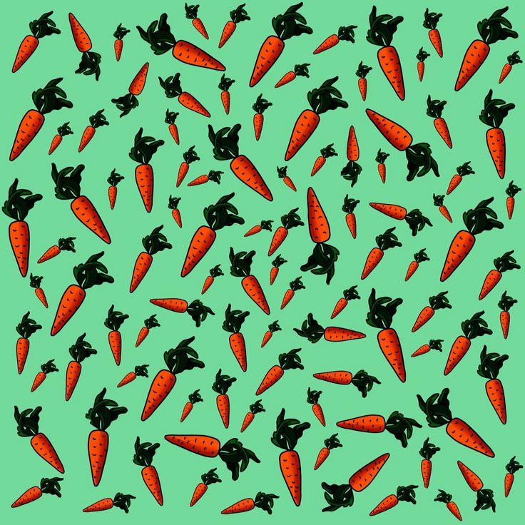pattern carrot