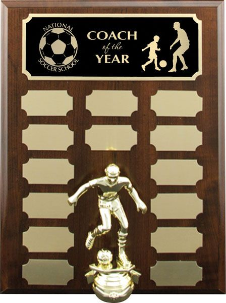 Cherrywood Annual Plaque With Figure