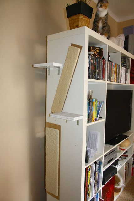 1000 ideas about ikea hackers on pinterest ikea hacks for Bookshelf cat tower