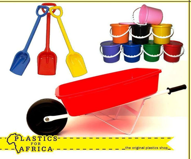 The trick to keeping kids happy and busy during school holidays is with enough toys. Visit your nearest #PlasticsforAfrica store for our wide selection of toys such as these spades, available in various colours & sizes, the wheelbarrow and these 1lt party buckets. #Toys #SchoolHolidays
