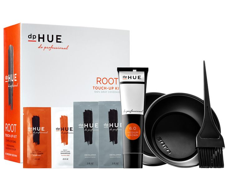 The Best Root Touch-Up for Every Hair Type - Best Long-Term Fix: dpHUE Root Touch-Up Kit from InStyle.com