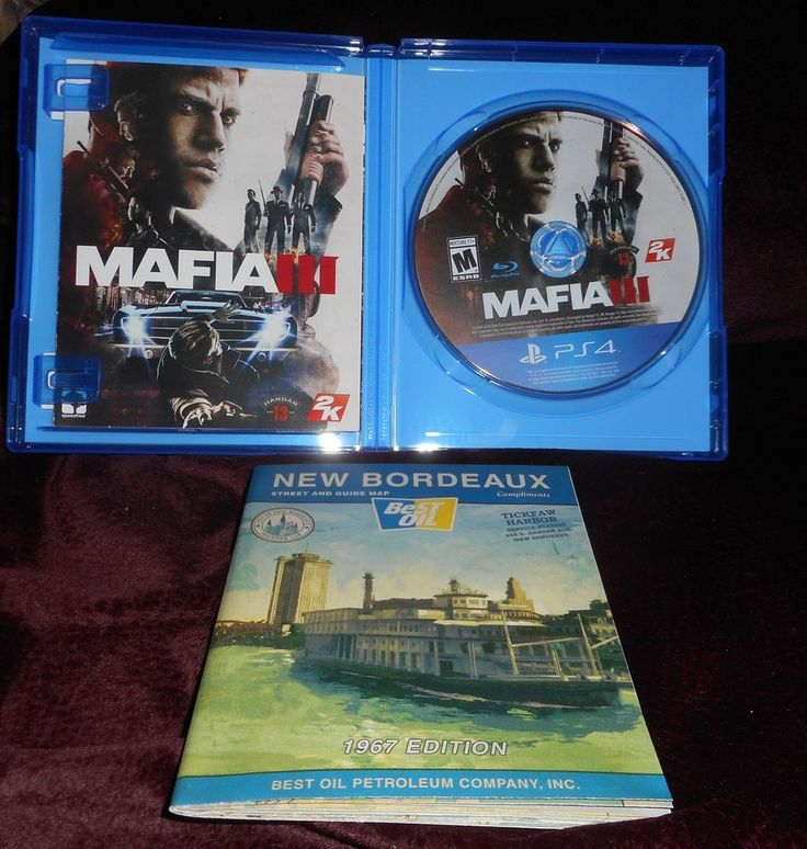 Mafia 3 / Mafia III (Sony PlayStation 4, 2016) Excellent condition.