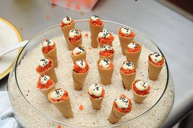 Conos de salmón