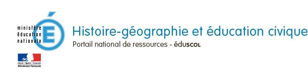Ministère de l'éducation nationale, Histoire-géographie et éducation civique, portail national de ressources Éduscol
