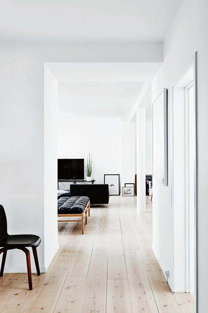 Licht en wit appartement uit Kopenhagen - Makeover.nl
