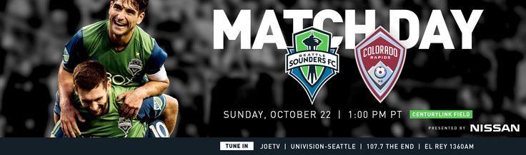 Matchday SEAvCOL 10-22 | Seattle Sounders FC