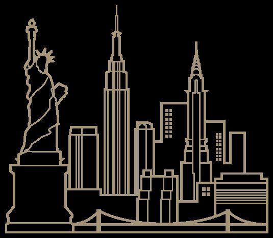 12 besten ciudad bilder auf pinterest silhouetten skylines und st dte. Black Bedroom Furniture Sets. Home Design Ideas