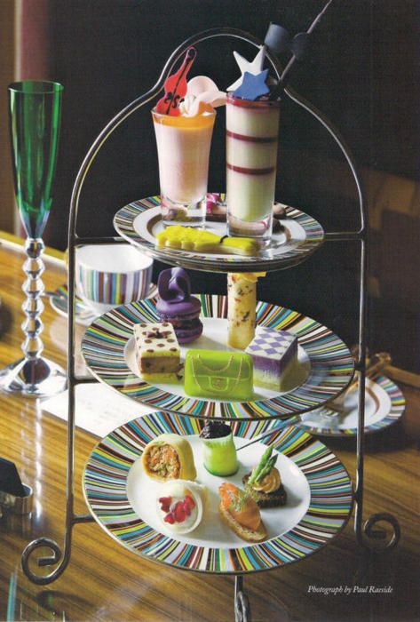 Afternoon tea at The Berkeley Hotel in London. Someday....