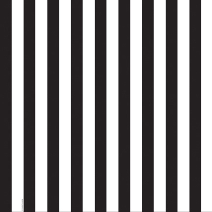 black and white striped table cloth