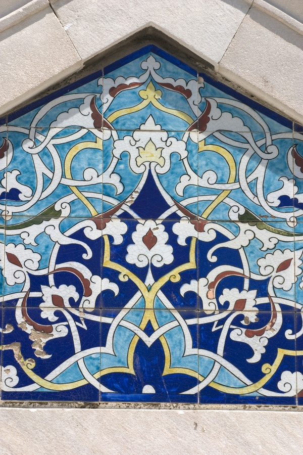 Tiles, Konak Mosque by Ihsan Gercelman, via 500px.