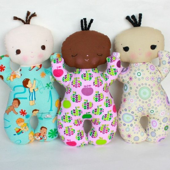 Cute baby doll pattern (not scary!)