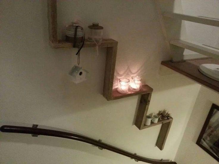 Mooi voor in het trappengat!