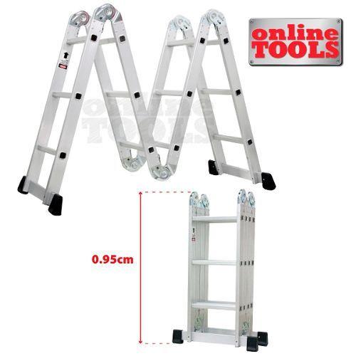 Las 25 mejores ideas sobre escaleras de aluminio en for Escalera aluminio plegable articulada precio