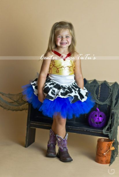 Cow Girl Jesse Toy Story Costume/Tulle TuTu par CenterStageTuTus