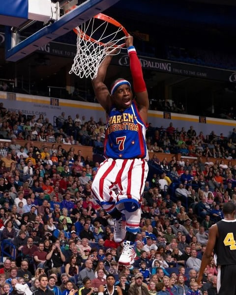 Where can you find Too Tall's #7 jersey?  Swinging from the rim every night, and right here!