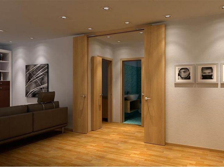 DRZWI ŁAMANE OBROTOWE STILL-ARTE. Drzwi  łamane-obrotowe to bardzo praktyczne rozwiązanie w pomieszczeniach gdzie standardowe modele zajmują za dużo miejsca.