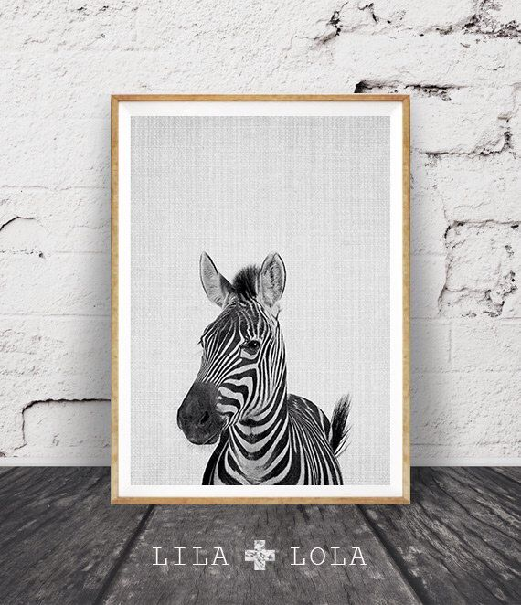 Zebra Print, Nursery Animal Wall Art, Kids Room Printable Instant Digital Download, Black and White Safari Decor, Modern Minimalist Photo by lilandlola on Etsy https://www.etsy.com/listing/252990671/zebra-print-nursery-animal-wall-art-kids