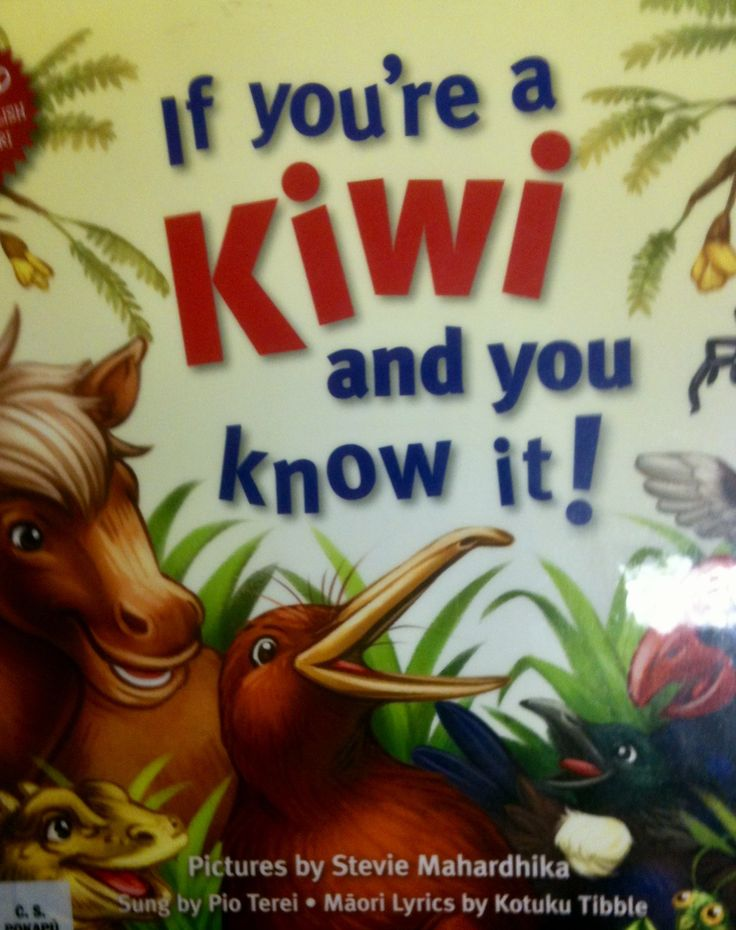 If you're a Kiwi and you know it!  Sung by Pio Terei