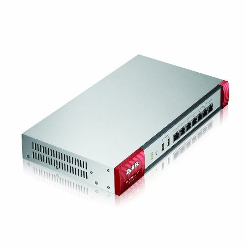 ZyXEL Next Generation VPN Firewall with 2 WAN, 1 OPT, 4 LAN/DMZ Ports Includes 1-Year UTM Services Bundle [ZYWALL110]