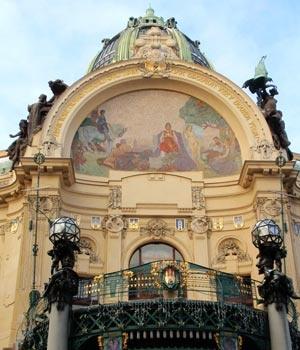 Prague, Obecni dum 1912