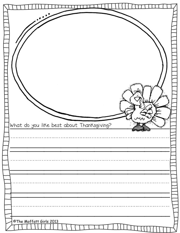 Thanksgiving and November Writing Prompts