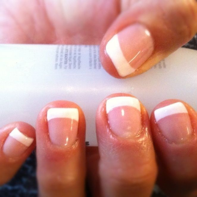 French Shellac | So much more natural looking than acrylic.