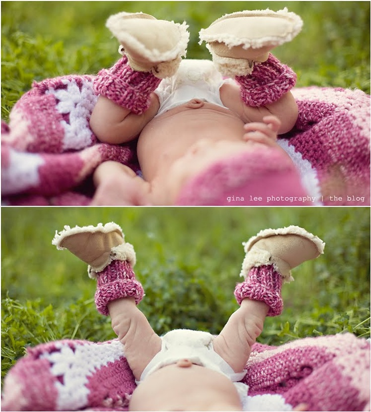 The cutest little baby legs, socks and booties!  I'm dying over here.  #newborn #photography