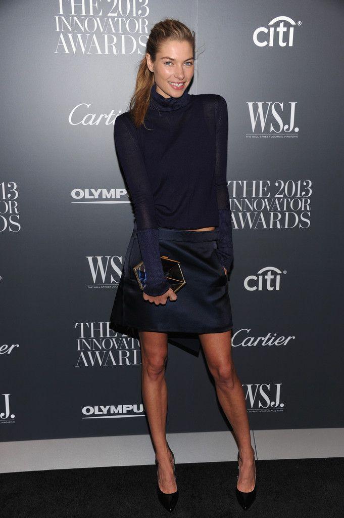 Jessica Hart Mini Skirt - Mini Skirt Lookbook - StyleBistro