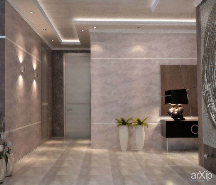 Минимализм в интерьере коридора: сочетание сиреневого оттенка и серебристого декора: интерьер, квартира, дом, коридор, современный, модернизм, 10 - 20 м2 #interiordesign #apartment #house #corridor #hallway #hall #passage #passageway #aisle #lobby #modern #10_20m2 arXip.com