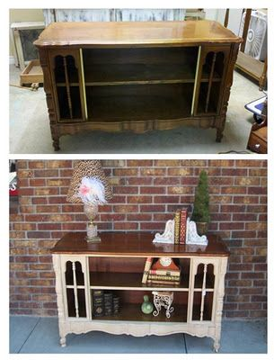 Great site for before and after furniture transformations: