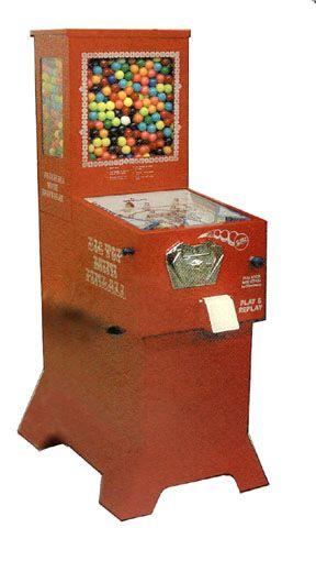 bubble gumball pinball machine