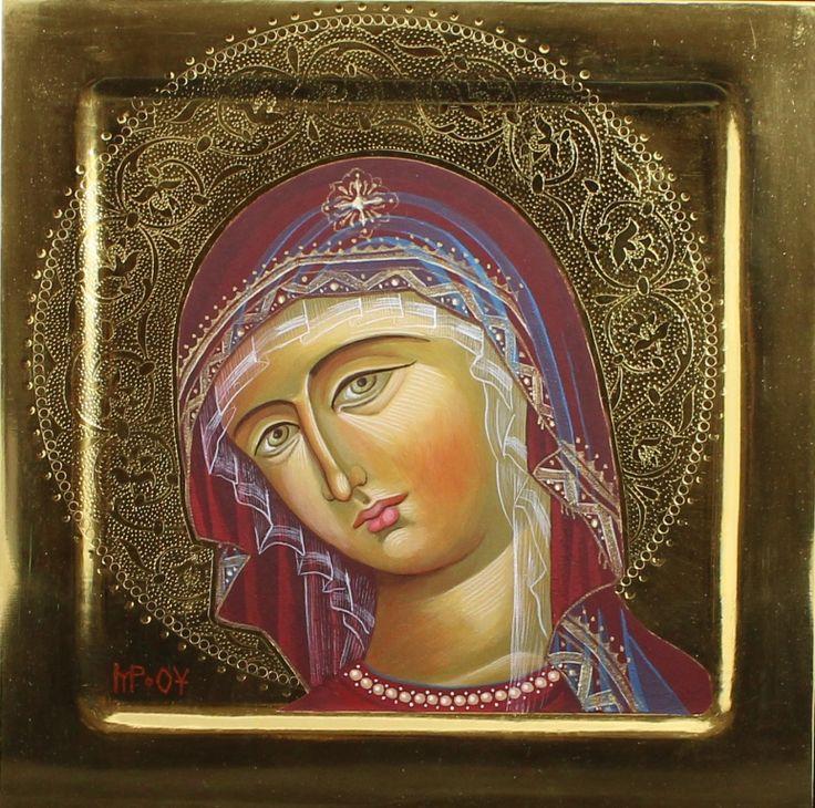 Theotokos by Katarzyny Kobyszewskiej