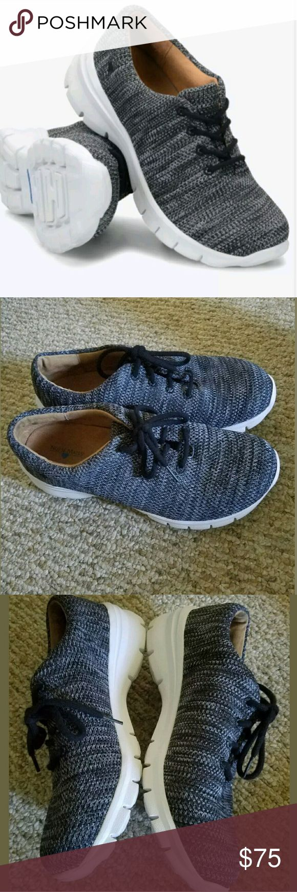 Nurse Mates Lacey 259509 Gray Knit Lace Sneakers 9M      Excellent used condition.   Stain-resistant woven fabric upperRemovable insoleLightweight EVA bottomSlip-ResistantHeel height: 1.5 inches   True to size / True to Width   LB Nurse Mates Shoes Sneakers