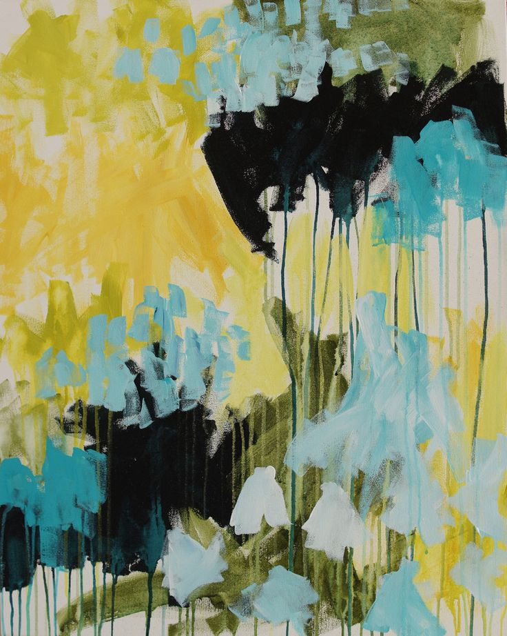 Turn Towards - original painting by megan auman - acrylic on canvas
