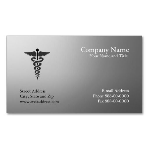 9 Best Cards Images On Pinterest | Business Cards, Medical And