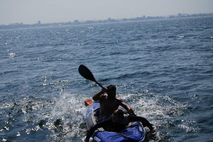 Promotie pentru unul dintre clientii nostri, pe un velier pe Marea Neagra ...6 ore pe zi, in fiecare weekend al verii.