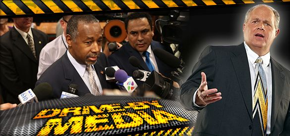 Despicable Politico Lie Spreads Around the World as American Media Attempts a Political Assassination of Dr. Carson - The Rush Limbaugh Show