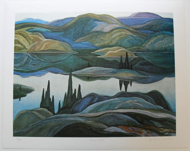 Group Of Seven Ltd Art Print - Mirror Lake - Franklin Carmichael | eBay $44.99